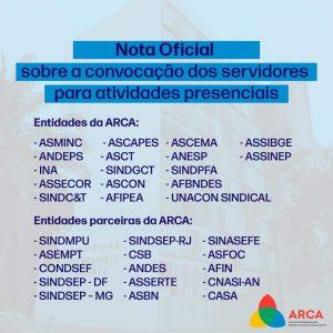 Assinatura ARCA e Parceiros
